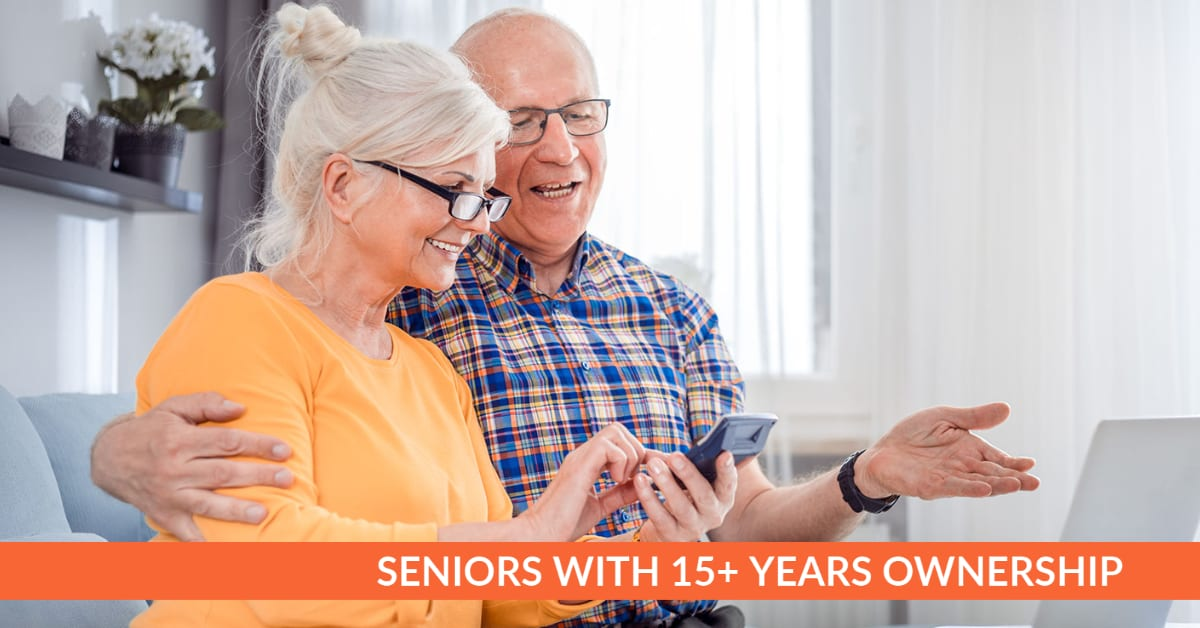 , Seniors with 15+ Years Ownership List