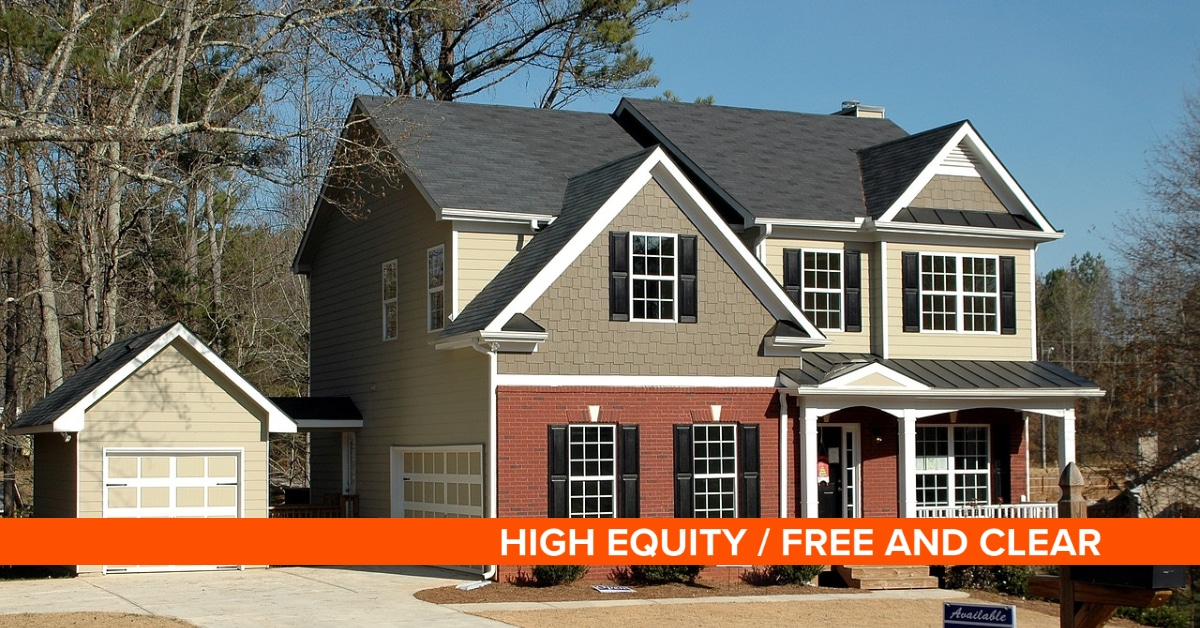 , High Equity / Free and Clear